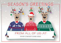 Happy Sweater Crew Holiday Cards
